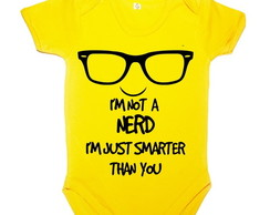 Body Amarelo I'm not a nerd MC Ref 152