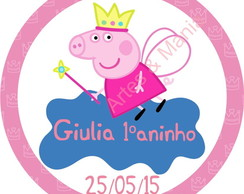 Arte Digital Peppa e George Pig