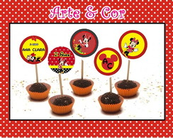 TOPPERS P DOCES E CUPCAKES - OFERTA