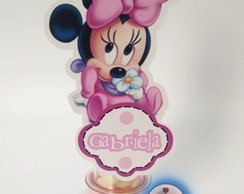 10 Tubetes Personalizado Minnie/Mickey