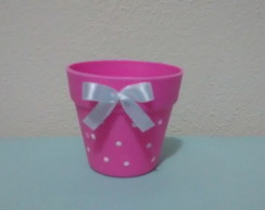 Mini vasinho PVC decorado
