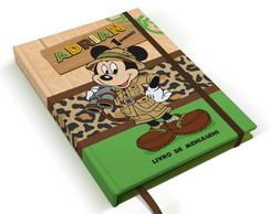 Caderno mickey safari