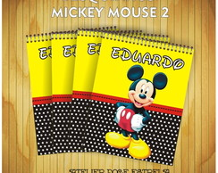 Bloquinho do Mickey 2