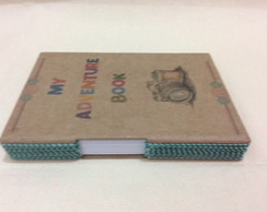 "Caderno Longstitch -""MY ADVENTURE BOOK"""