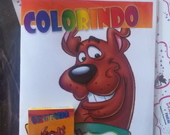 Kit de Colorir DiMagia Scooby-Doo