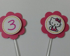 Topper Hello Kitty Personalizado