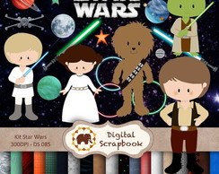 Kit Scrapbook Digital - Star Wars