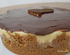 Cheesecake Maracujá com Chocolate