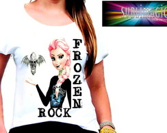 Camiseta Frozen Rock