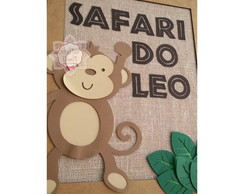 Quadro Scrap Safari