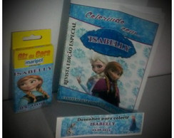 Revistinha de Colorir Frozen