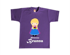 Body ou Camiseta Princesa Anna Frozen