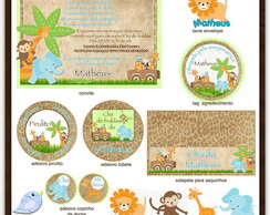 Kit digital Safari | para imprimir