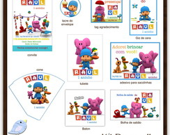 Kit digital Pocoyo | para imprimir