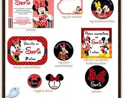 Kit digital Minnie | para imprimir