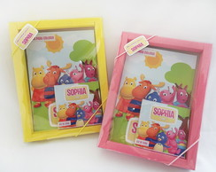 Kit Colorir com Caixa Backyardigans