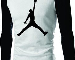 Camiseta Raglan Nba Jordan Basketball