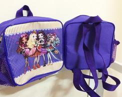 Mochila Quadrada Ever After High