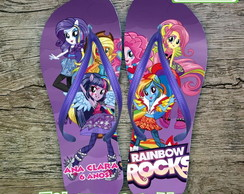 Chinelo Infantil Equestria Girls