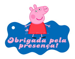 Arte Digital Tag Peppa Pig