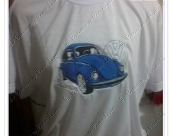 Camiseta ou Baby Look Adulto Fusca
