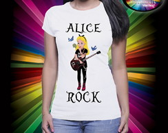 Camiseta Alice Rock