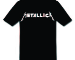 Camiseta do Metallica