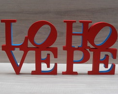 Duo Love e Hope NY Cor Original - 15 cm