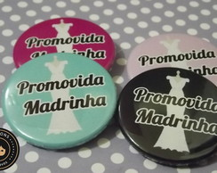 Madrinha - Botton promovida Madrinha