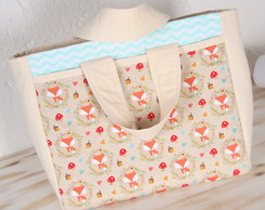 Ecobag Fox Turquesa