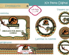 Kit Festa Digital Dino