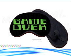 Máscara p/ dormir - Game over
