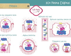 Kit Festa Digital Peppa