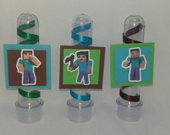 Tubete decorado - Minicraft