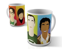 Caneca The big Bang Theory color