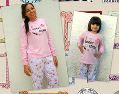 Kit Pijamas Sweet mom - Child