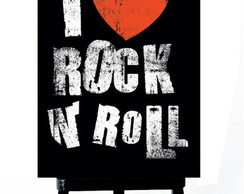 . MINI POSTER - I LOVE ROCK