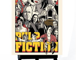 . MINI POSTER - PULP FICTION