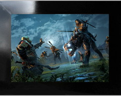 * QUADRO DECORATIVO - SHADOW OF MORDOR