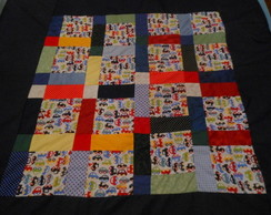 Tapete Infantil Patchwork Carrinhos