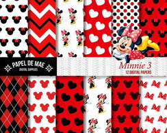 Kit Papel Digital Minnie (3)