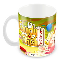 Caneca Candy Crush Saga