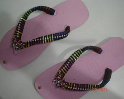 Chinelo Bordado