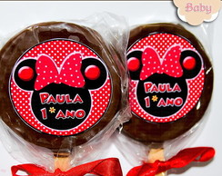 Pirulito Alfajor Minnie Mouse