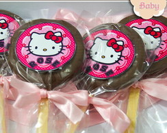 Pirulito Alfajor Hello Kitty
