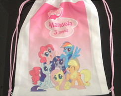 mochila personalizada my little pony