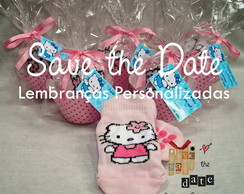 Meias personalizadas - Hello Kitty