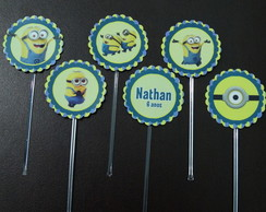 Toppers ou Tags Minions