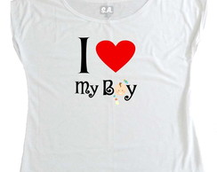 T-shirt I love my boy