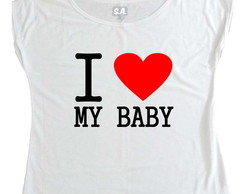 T-shirt I love my baby